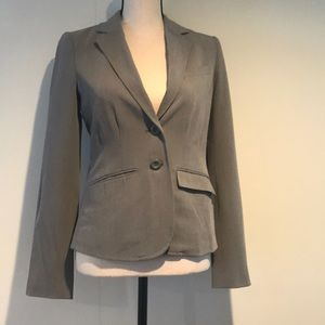 Lauren Conrad grey gray blazer size 2